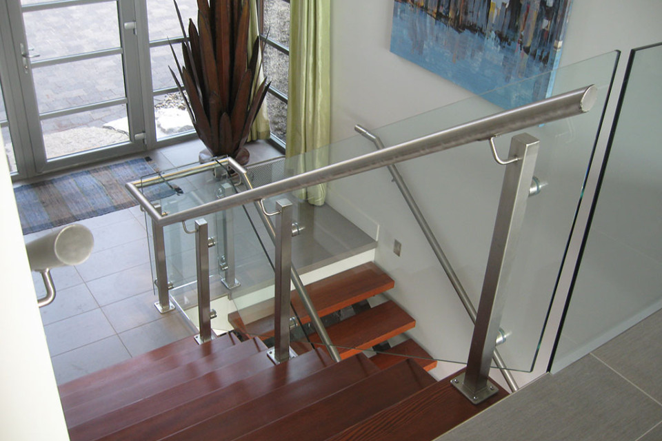 Interior Glass Amp Picket Railings